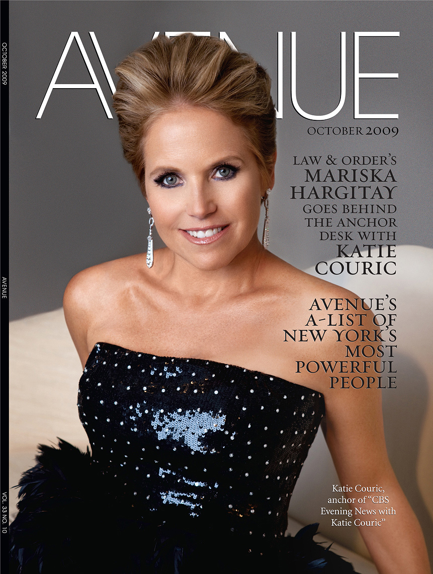 Katie Couric Avenue Magazine