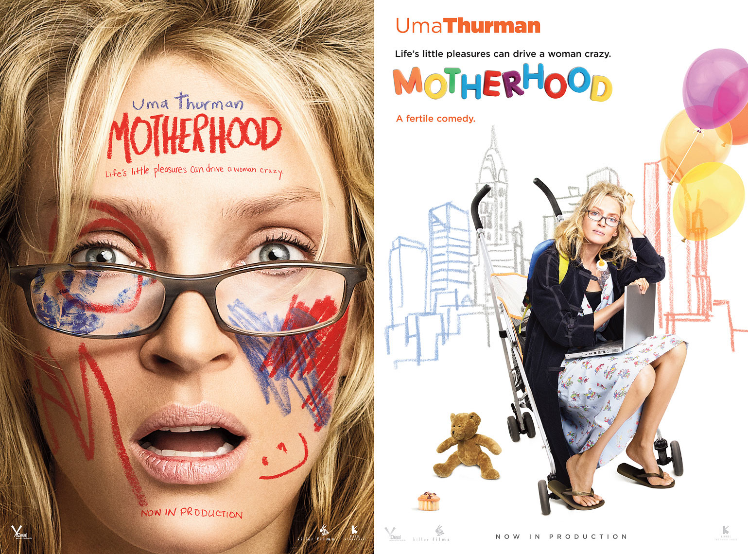 Uma Thurman - Motherhood