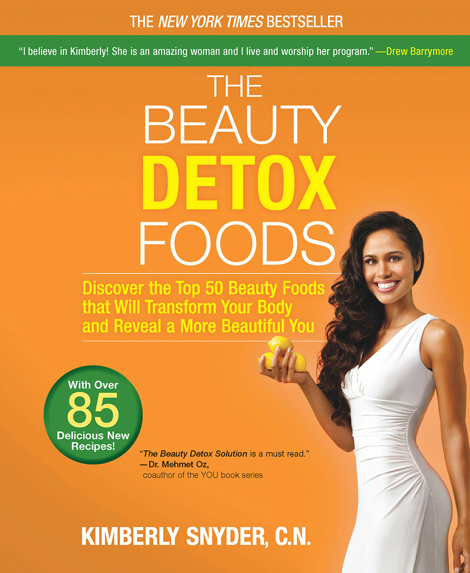Kimberly Snyder The Beauty Detox Foods